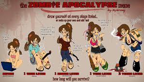 Meme Zombie - zombie apocalypse meme by blackknightgargie on deviantart