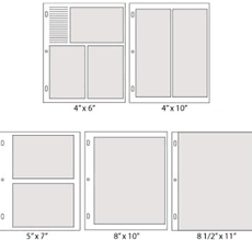 Leather Photo Albums 8x10 Refills For Large Photo Albums The Perfect Archival Leather