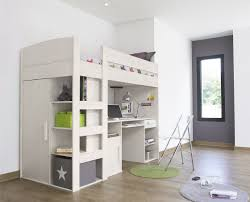 small kids bedroom layout ideas white dotted bed sheet shelf cube