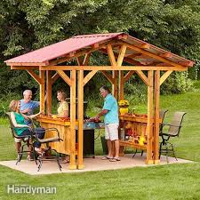 How To Build A Covered Pergola by 22 Free Diy Gazebo Plans U0026 Ideas To Build With Step By Step Tutorials