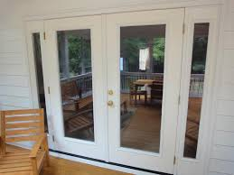 outswing patio doors install doors when building deck thats my house