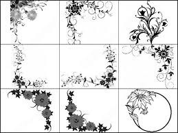 floral decorative brush photoshop brushes in photoshop brushes abr