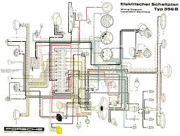 pelican parts porsche 356 electrical diagram electrical wiring