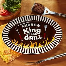 personalized grilling platter king of the grill bbq platter grilling yards and crafts
