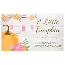 baby shower banners baby shower custom banners signs zazzle