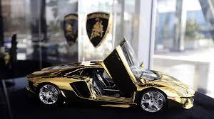 lamborghini car dubai lamborghini made from gold s most expensive model car on