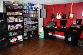 video game room and music studio in one via nintendoage user