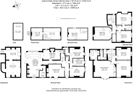 House Plan 1761 Square Feet 57 Ft by 6 Bedroom Detached House For Sale In West Street Emsworth