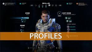 mass effect andromeda profiles ranks guide gamerfuzion