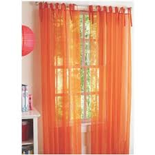 Sheer Curtains Orange Sheer Orange Curtains Walmart Home Ideas Pinterest Get