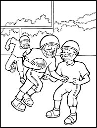 football coloring pages printable coloringstar