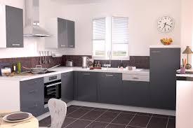 meuble cuisine gris anthracite inspiration design meuble de cuisine