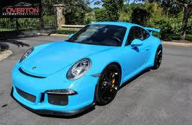 porsche blue 2015 mexico blue 911 gt3 overton automotive brokers
