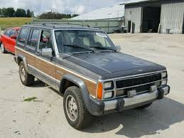 1989 jeep wagoneer limited 1989 jeep wagoneer limited for sale wi madison salvage cars