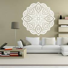 aliexpress com buy new mandala yoga decal vinyl sticker flower getsubject aeproduct