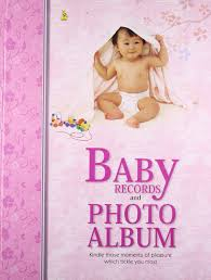Baby Photo Albums Buy Baby Record U0026 Photo Album Hard Bound Par Book Online At