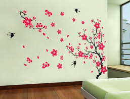 Best Floral Wall Decals Images On Pinterest Floral Wall - Wall sticker design ideas