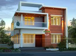 small modern double storey home design architecture and art