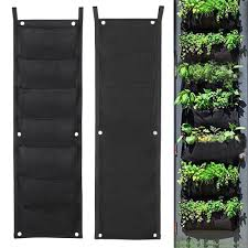 Wall Mount Planter by Topeakmart 7 Pocket Garden Vertical Planter Wall Mount Living