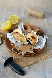comment cuisiner des huitres huîtres chaudes gratinées au four recette tangerine zest