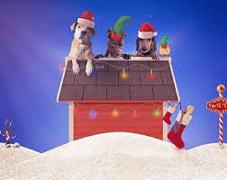 snoopy christmas dog house snoopy dog house etsy