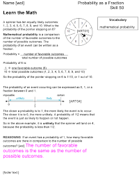 pictures on grade 6 math worksheets probability bridal catalog
