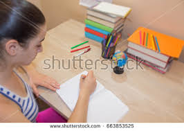 Picture Of Someone Sleeping At Their Desk Studying Stock Images Royalty Free Images U0026 Vectors