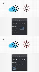 create a set of flat weather icons autodesk graphic tutorials