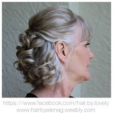 bridal hair wedding hair mother of the groom http