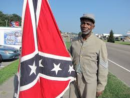 Confederate Flag Black And White Douglass Riverview News And Current Events A Black Man And The