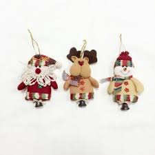 colormix 6pcs quality ornaments with small bell