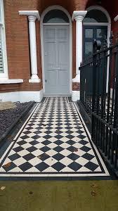 Victorian Mosaic Floor Tiles And London Garden Design Part 2