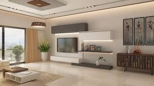 Designer Living Room Brilliant Living Room With Tv On Wall For Ideas