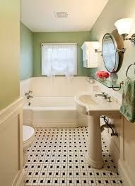 this bathroom was remodeled to match the 1930 s home character