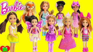 barbie dolls small chelsea friends