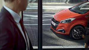 peugeot 208 new car showroom small car test drive today