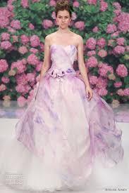 Purple Wedding Dress Turmec Ombre Purple Wedding Dress