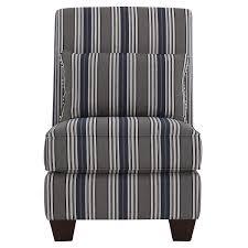 city furniture amuse blue stripe accent chair