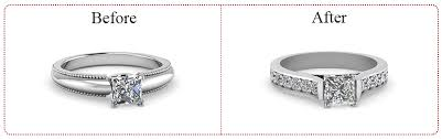 reset wedding ring who why and how to reset the ring fascinating diamonds