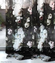 Black Floral Curtains Elliecashmandarkfloralcurtainsphoto Stylingellenmesuthmb Abbe S