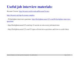 Firefighter Job Description Resume by Top 12 Tips For Writing An Effective Firefighter Resume