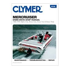 clymer repair manual mercruiser 86 94 alpha bravo u2022 28 95 picclick