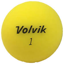 volvik matte finish matte finish golf balls yellow dozen