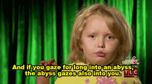 Honey Boo Boo Meme - philosophical here comes honey boo boo is the best thing