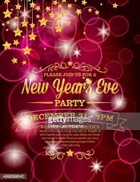 new year invitation template free printable new years eve party