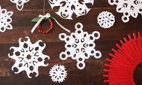 paper snowflakes kidspot