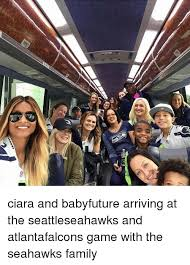 Ciara Meme - r ciara and babyfuture arriving at the seattleseahawks and