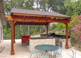 covered free standing deck google search backyard ideas