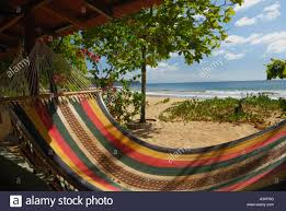 hammock on madera beach near san juan del sur a popular beach