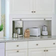 kitchen appliance storage ideas best 25 kitchen appliance storage ideas on roll top